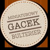 GACEK miniaturowy bulterier
